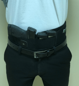 belly band holster from concealed carry