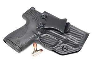 Concealment Express KYDEX IWB Gun Holster fits Smith & Wesson M&P SHIELD 9 40