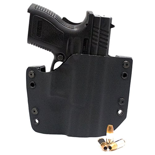 R&R HOLSTERS: OWB Kydex Holster – Black