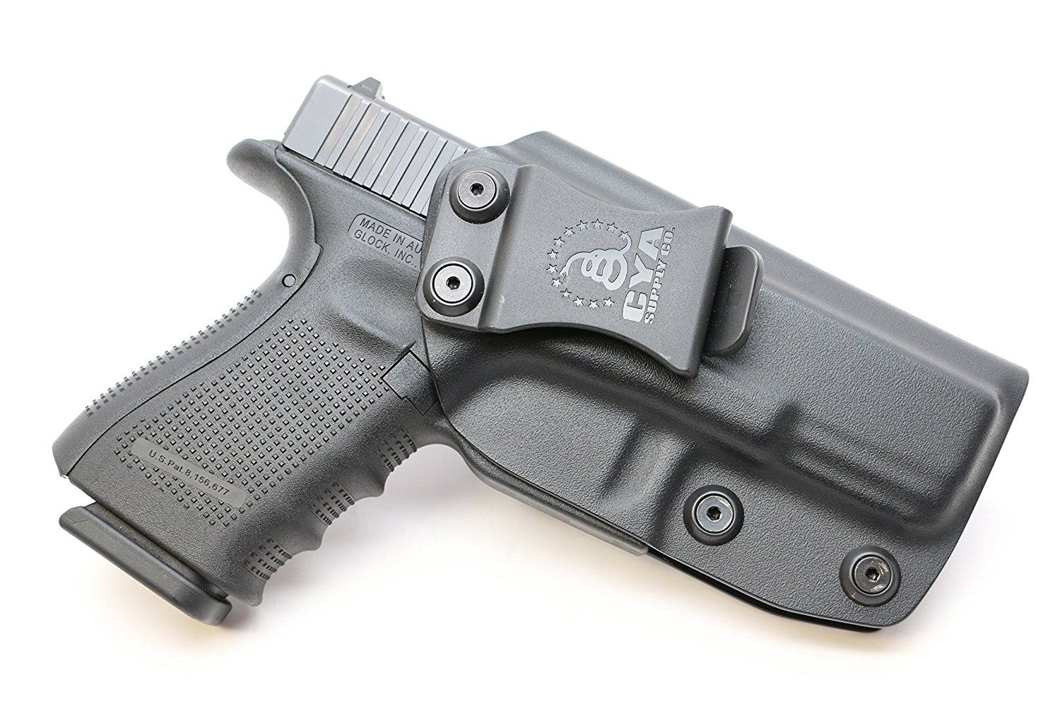 CYA Supply Co. IWB Holster Fits: Glock 19 / Glock 23 / Glock 32