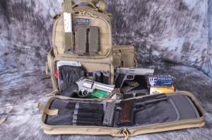tactical range backpack setup