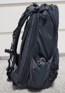 edc backpack side