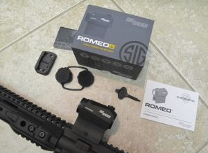 sig sauer romeo 5 review unboxing