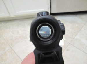 sig sauer romeo 5 scope close up