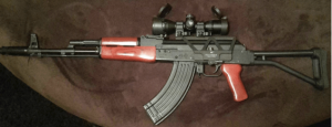best scope for ak47 is the UTG 3-9X32