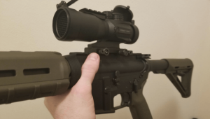 prism arms hunting scope fron view